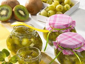 Stachelbeer-Kiwi-Marmelade Rezept