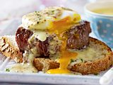 Steak Egg Benedict mit Senf Rezept