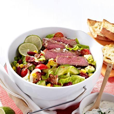 Steak-Salat Texas Style Rezept