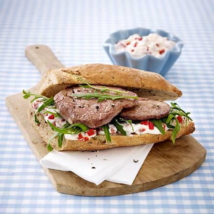 Steak-Sandwich Rezept