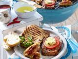 Steaks, Koteletts und Chicken Wings vom Grill Rezept