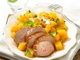 Steckrüben-Gemüse zu Schweinefilet Rezept