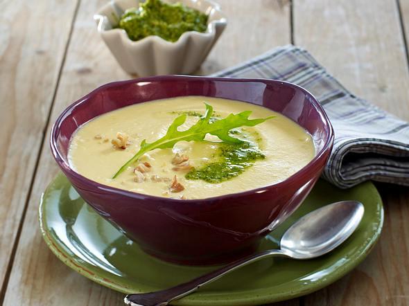 Steckrüben-Süßkartoffel-Suppe Rezept