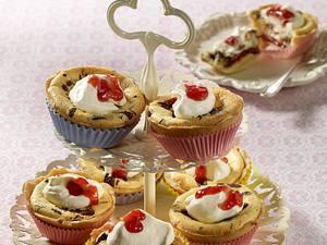 Stracciatella-Cheesecake-Muffins Rezept