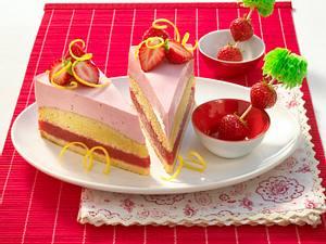 Strawberry-Margarita-Torte Rezept