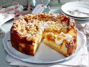 Streusel-Aprikosen-Cheesecake Rezept