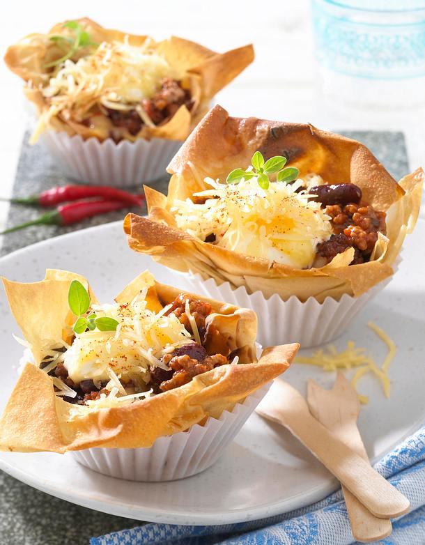 strudel muffins chili con carne rezept lecker. Black Bedroom Furniture Sets. Home Design Ideas