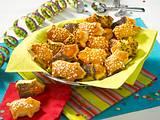 Süße Hefeteig-Schweinchen Rezept