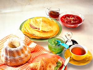 Süßes Frühstück Pfannkuchen Rezept