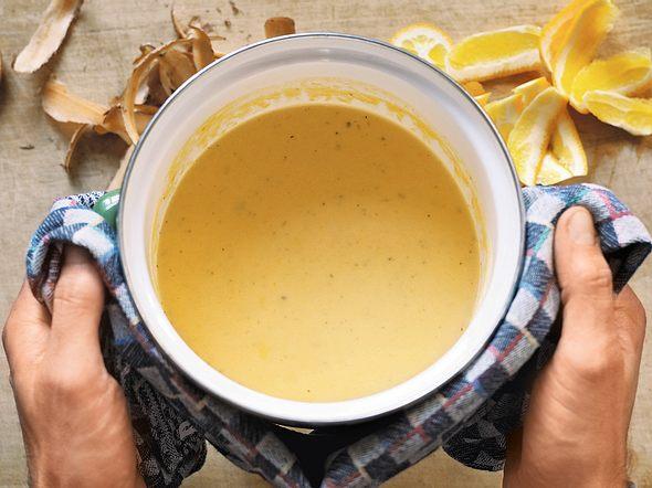 Süßkartoffel-Orangen-Suppe Rezept