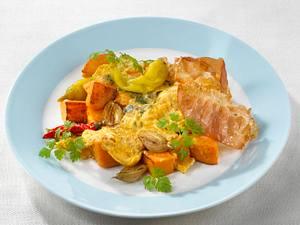 Süßkartoffel-Pfanne Rezept