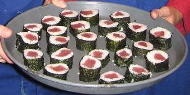 Sushi Maki vom Thunfisch Rezept