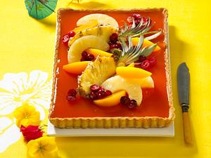 Sweet Sunrise-Tarte Rezept
