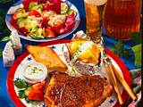 T-bone-Steak mit Baked Potato Rezept