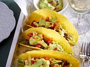 Tacos mit Rinderhack und Avocado Rezept