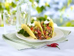 Tacos mit scharfer Fleischfüllung Rezept