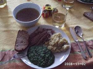 Tafelspitz mit klassischen Wiener Beilagen Rezept