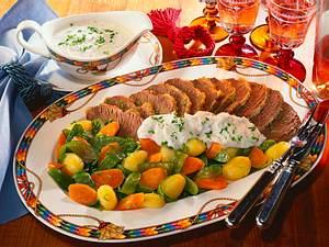 Tafelspitz mit Meerrettich-Schnittlauchsoße Rezept