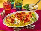 Tandoori-Hähnchen mit Curry Reis Rezept
