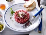 Tartare de boeuf (Steaktatar) Rezept