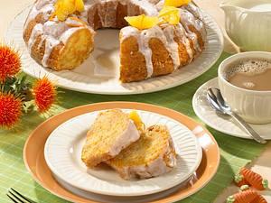 Tassen-Möhrenkuchen mit Mandeln und Orangenguss Rezept
