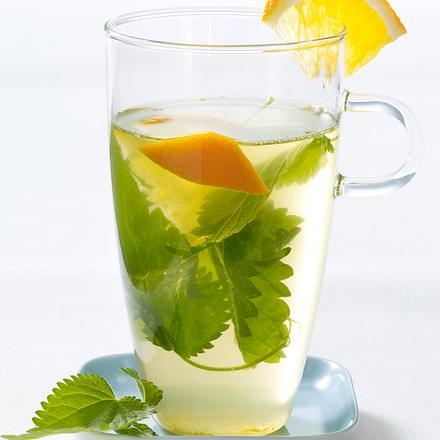 Tee mit Brennesseln, Gewürznelken und Orange (Schlank-Tee) Rezept