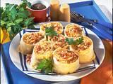 Teigröllchen mit Sauerkraut und Speck Rezept