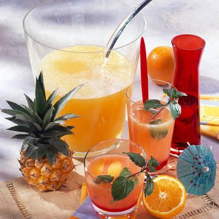 Tequila-Bowle Rezept