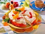 Tequila Sunrise-Torte Rezept