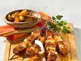 Tex-Mex-Spieße zu Country-Kartoffeln Rezept