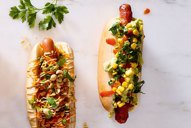 Texmex-Hotdog Rezept