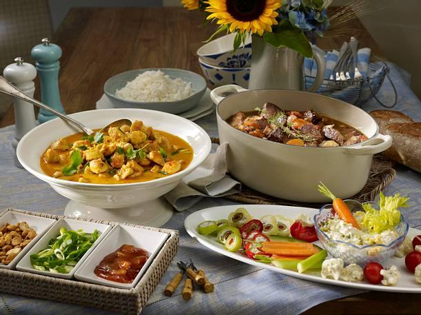 Thai-Curry-Gulasch Rezept