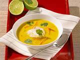 Thai-Currysuppe mit Hähnchen Rezept