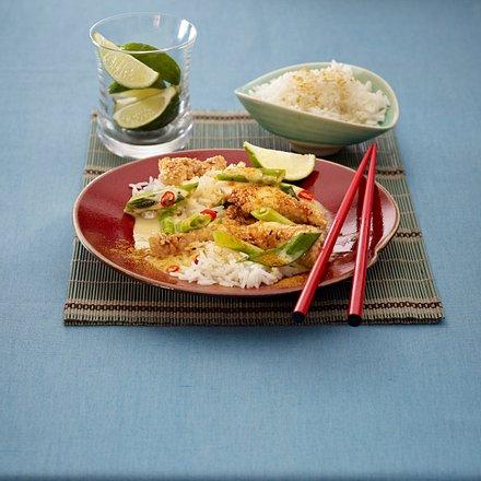 Thai-Geschnetzeltes Rezept