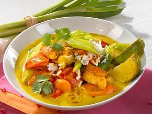 Thai-Hähnchencurry Rezept