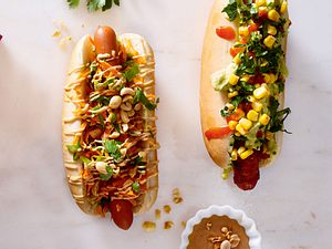 Thai-Hotdog Rezept