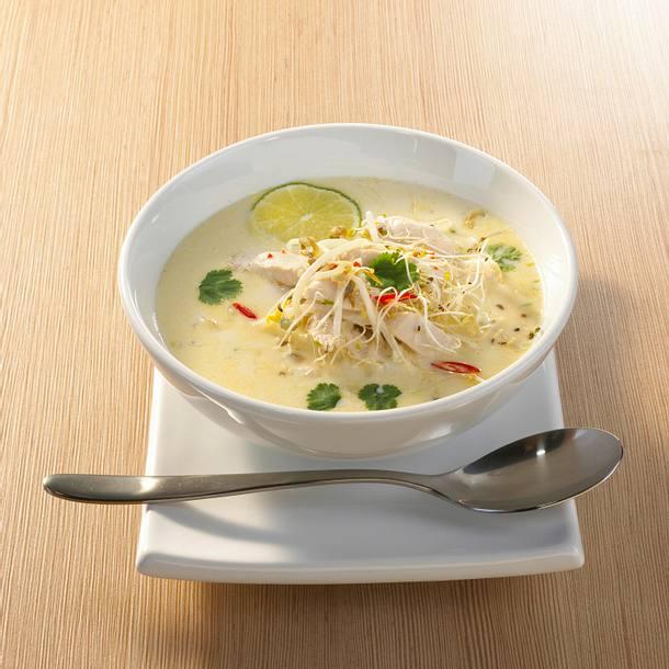 Thai-Hühnersuppe Rezept