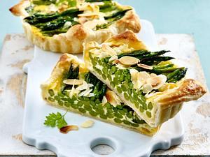 Thai-Spargel-Tarte Rezept