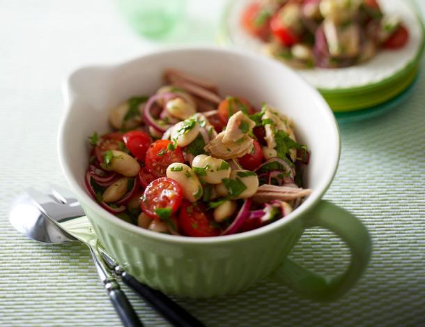Thunfisch-Bohnen Salat Rezept
