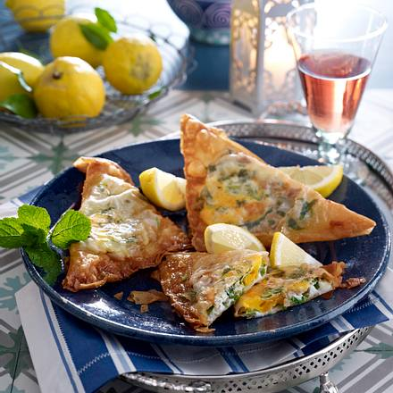 Thunfisch-Eier- Käse-Brik Rezept