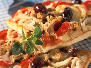 Thunfisch-Pizza Rezept