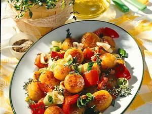 Thymian-Kartoffelpfanne Rezept