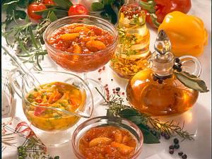 Thymian-Knoblauch-Öl Rezept