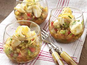 Tintenfisch auf Gemüseragout Rezept