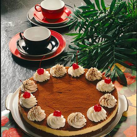 Tiramisu-Schokoladentorte Rezept