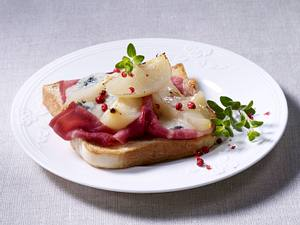Toast Gorgonzola Rezept
