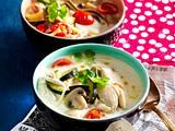 Tom Kha Gai – Thailändische Kokos-Hähnchen-Suppe Rezept