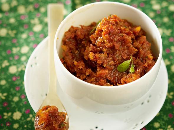 Tomaten-Aprikosen-Pesto Rezept