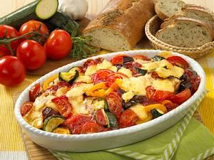 Tomaten-Auberginen-Auflauf Rezept