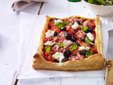 Tomaten-Blätterteig-Quiche Rezept